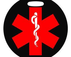Chandelier Sign Medical Medical Symbol Etsy