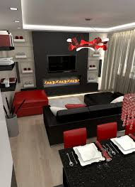 Tips For Living Room Color by Prepossessing Black And Red Living Room Decirating Ideas Idolza