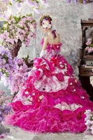 fuschia wedding dress pin by sofia peralta on gowns