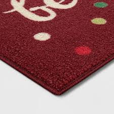 red accent rugs target