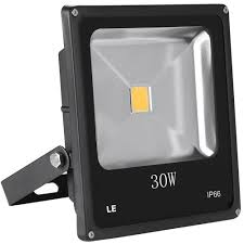Led Outdoor Flood Lights Super Bright 30w Led Floodlight Warm White Ip66 Waterproof Le