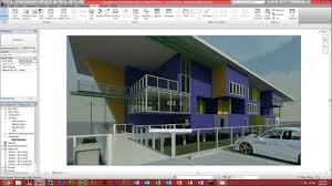 autodesk revit architecture how to make a render youtube