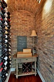 furniture best wine cellar racks with vintage side table and