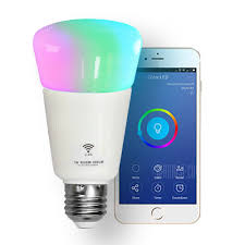 alexa controlled light bulbs wifi led bulb dimmer smart rgbw light bulbs remote control wifi
