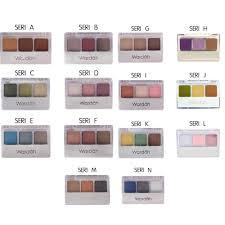 Aplikasi Eyeshadow Sariayu jual wardah eye shadow mawar shop