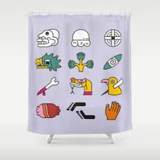 Shower Curtains With Writing Themselves Shower Curtains Society6