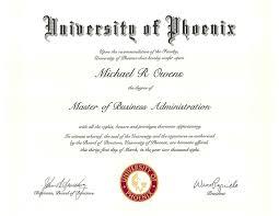 of phoenix diploma u0026 transcript