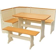 Buy Haversham Pine Effect Dining Table With Nook  Corner Bench At - Argos kitchen tables