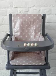 siege haute coussin pour chaise haute en bois eliptyk