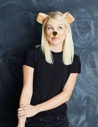 Dalmatian Puppy Halloween Costume 15 Diy Snapchat Filter Costumes Ideas Snapchat Makeup