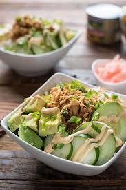 sriracha mayo sushi spicy tuna sushi bowl recipe neighborfood