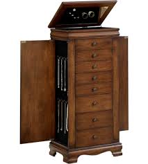 Black Armoire Jewelry Armoires And Jewelry Chests Organize It