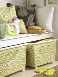Decoration Storage Containers Make Your Own Decorative Storage Bins At Womansday