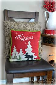 Christmas Moose Home Decor Dining Delight A Cozy Cabin Christmas Display