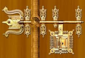 home design door locks circle kitchen designed by compact concepts kerala doors and