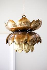 Lotus Pendant Light The Pursuit Of Style Lotus Chandelier Home On The Range