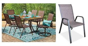 Sling Outdoor Chairs Deal Sling Patio Chairs Only 12 00 Hurry
