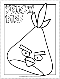 angry birds kids coloring pages free printable kids coloring pages