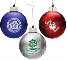 light up custom ornaments