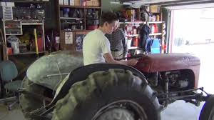massey ferguson tractor maintenance youtube