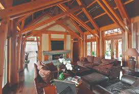homes interiors and living timber frame timber frame home interiors new energy works