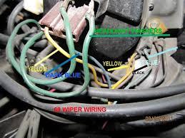 windshield wiper motor wiring chevelle tech