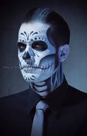 imagenes de calaveras hombres calavera hombre maquillaje buscar con google next halloween