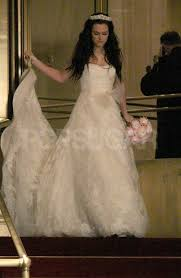 blair wedding dress blair waldorf wedding dress pictures on gossip set popsugar