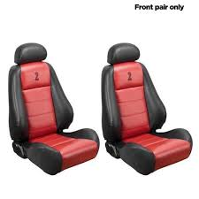 Tmi Upholstery Vw Mustang 10th Anniversary Cobra Front Seat Upholstery Vinyl Red