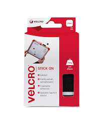 velcro brand stick on squares 25 mm black pack of 24 amazon