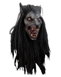 halloween costumes werewolf black moon werewolf mask cheap halloween masks horror shop com