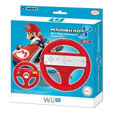 wii volante hori mario kart 8 racing wheel mario for wii u nintendo wii u