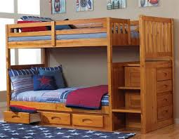 Bunk Bed Cots For Cing Stairway Bunk Beds Desk Intersafe