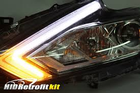 16 18 nissan altima custom led retrofit headlights