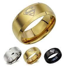 Superhero Wedding Rings aliexpress com buy 8mm superhero rings for men titanium