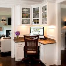 Kitchen Office Furniture Lovable Built In Corner Desk Ideas Charming Home Office Furniture