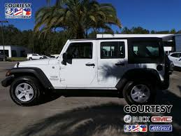 jeep rubicon white sport white jeep wrangler in louisiana for sale used cars on