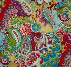 bright bohemian paisley curtains floral paisley drapes pier