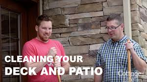 Patio Cleaning Tips Cottage Cleaning Tips Cleaning Your Deck And Patio Youtube