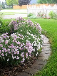 Australian Garden Ideas by Fabulous Australian Style Garden Flowers Bed With Stone Edging