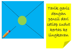 cara membuat origami kincir angin cara membuat kincir angin