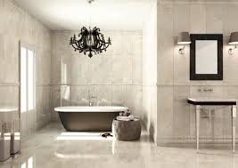 nice bathroom ideas with contemporary gray and white freestanding
