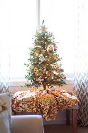Gold White Christmas Tree 18 Best Small Christmas Trees Ideas For Decorating Mini