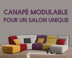 canape modulaire canapé modulable pour un salon unique topdeco pro