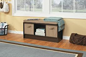 Storage Bench Amazon Com Closetmaid 1570 Cubeicals 3 Cube Storage Bench