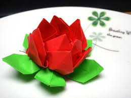 Lotus Blossom Origami - lotus flower origami review of flower lotus blossom images