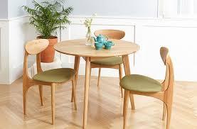 oak wood dining table wood furniture singapore nabi dining chair solid oak wood namu