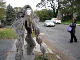 creepy costumes creepy creature stilt costume 2011 handmade