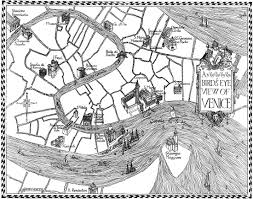 Map Venice Florida by Bird U0027s Eye View Of Venice Coloring Map For Kids Venice For