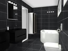 Winning Design D Floor Plan For A Luxury Bathroom With Black - Bathroom design 3d